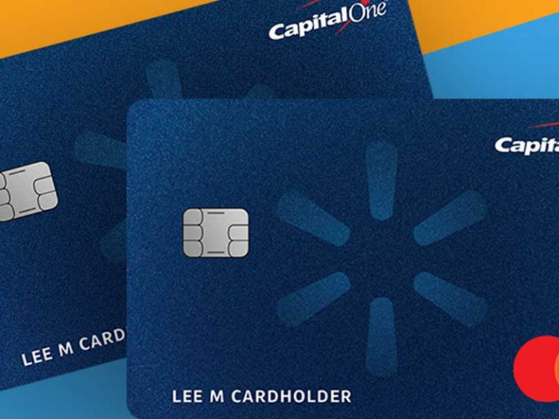 Capital one walmart card